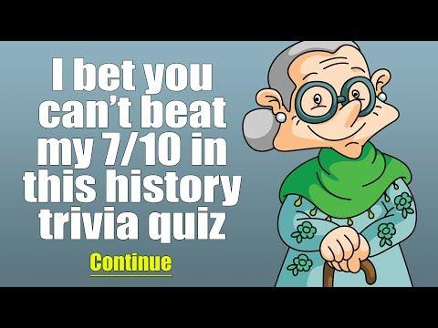 History Quiz (1960-1969)
