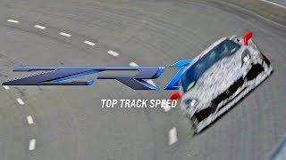 CORVETTE ZR1 2019 Top Speed Testing смотреть