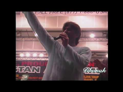 Junaid Jamshed (Dil Dil) Live stage performance in Miami -Dhanak tv USA