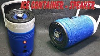 Building Ice Container Bluetooth Speaker