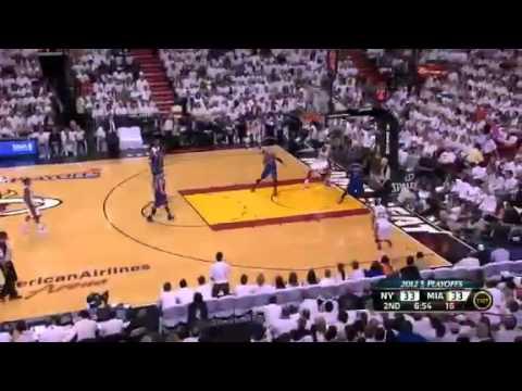 NBA Playoffs 2012 Game 2 New York Knicks Vs Miami Heat  Highlights (0-2) - FREE NBA Jersey
