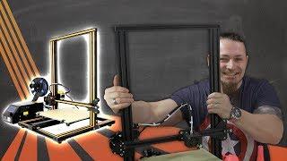 XXL 3D-Drucker 🔬 CREALITY3D CR-10 [Review, Technik, German, Deutsch]