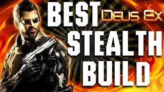 Deus Ex Mankind Divided - BEST Stealth Build - Foxiest of Hounds Guide
