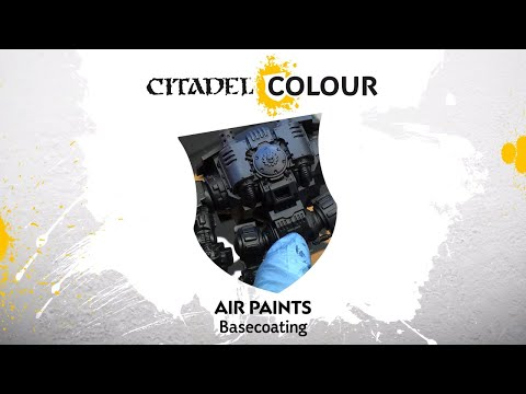 Air Paints: Basecoating