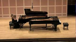 Schubert Fantasy in F Minor, Opus 103, D. 940 Part 1 Hamann Sisters, Amy and Sara Hamann