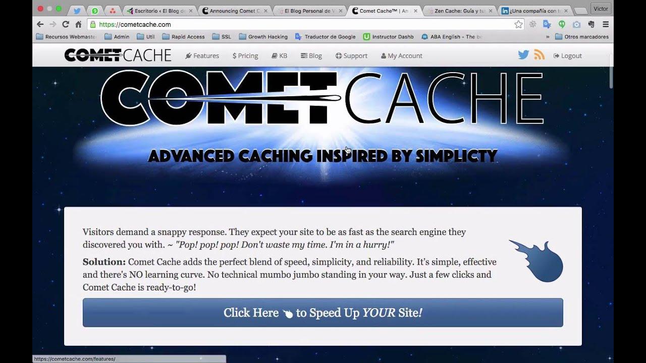 De Zencache a Comet cache en 5 minutos