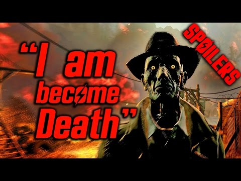 Fallout 4 Far Harbor - Nick Quotes Oppenheimer *SPOILERS*