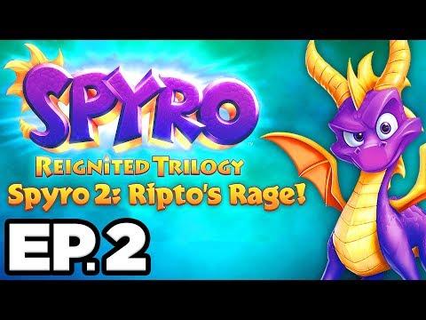 Spyro 2: Ripto's Rage Ep.2 - IDOL SPRINGS, OCEAN SPEEDWAY! (Reignited Trilogy Gameplay / Let's Play)
