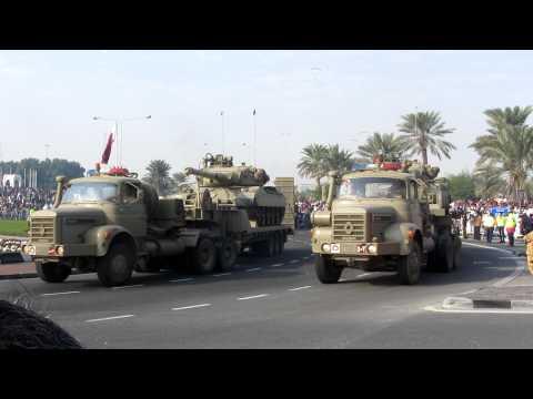 Qatar National Day 2011 Military Vehicle parade