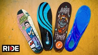 Baixar Skate Insoles Tested: Jaws FP, Remind Chico, Hockey & Dr. Scholls