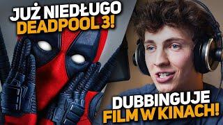Dubbinguje FILM ANIMOWANY! Deadpool 3 zapowiedziany! Avatar 2 vs Endgame!