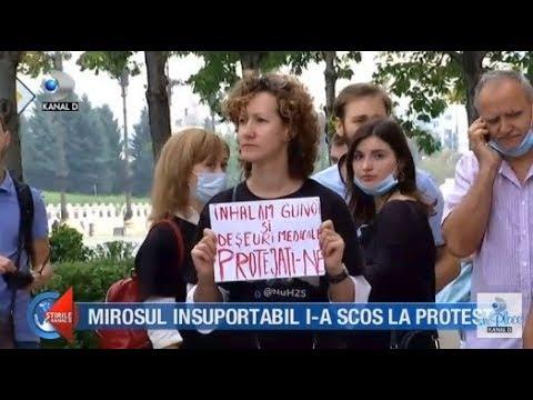 Stirile Kanal D (19.07.2018) - Mirosul insuportabil i-a scos la protest! Editie COMPLETA