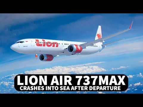 Lion Air 737 MAX Crashes into Sea