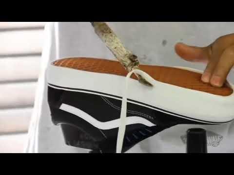 Proses Pembuatan Sepatu Vans (Original)This Real Production
