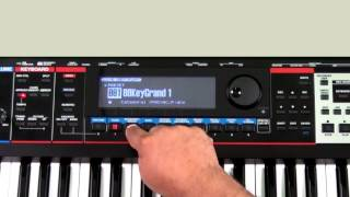 Roland Juno-Gi - How to use Arpeggio Section