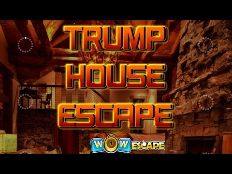 Wow trump house escape walkthrough full youtube for Minimalistic house escape 5 walkthrough