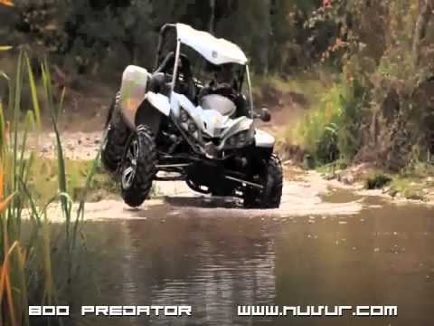 HuVuR 800cc 4x4 Predator Action Video MAKO Canada Dune Buggy