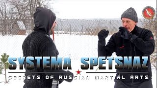 Systema Spetsnaz - Winter Training ( Вадим Старов Зимняя тренировка)