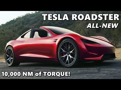 New Tesla Roadster 2020 Unveiled by Elon Musk - 2017-11... | Doovi