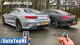 2018 Mercedes AMG S63 Coupe vs S63 AMG Coupe | REVIEW POV AUTOBAHN | OLD vs NEW by AutoTopNL