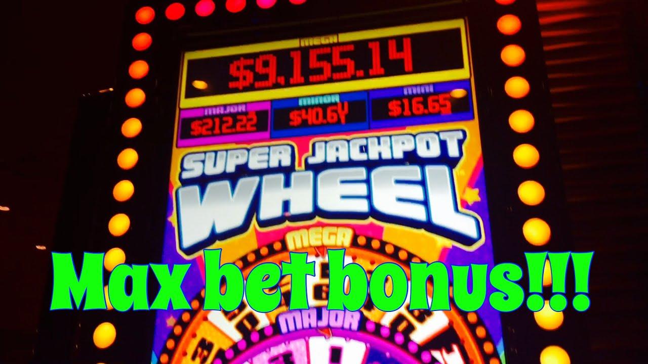 Super Jackpot Wheel slot machine, Max bet bonuses! by ...