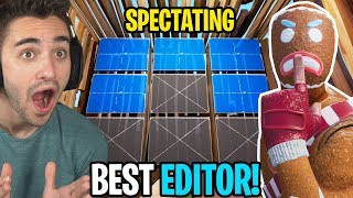 i died and spectated the FASTEST EDITOR and then THIS HAPPENED!