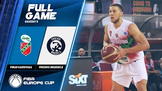 Pinar Karsiyaka v Phoenix Brussels - Full Game - FIBA Europe Cup 2019-20