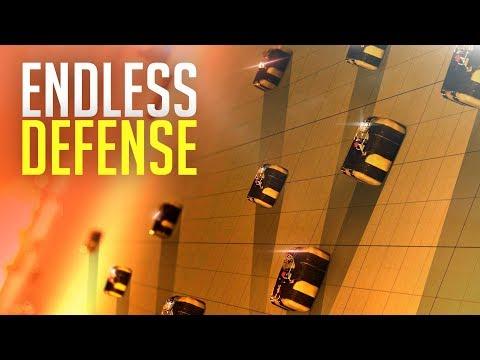 NON-STOP RAID DEFENSE! - Rust Duo