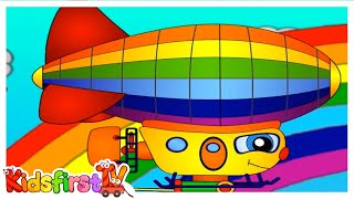 Masha And The Baby Puppy - Rainbow Balloon Rescue!