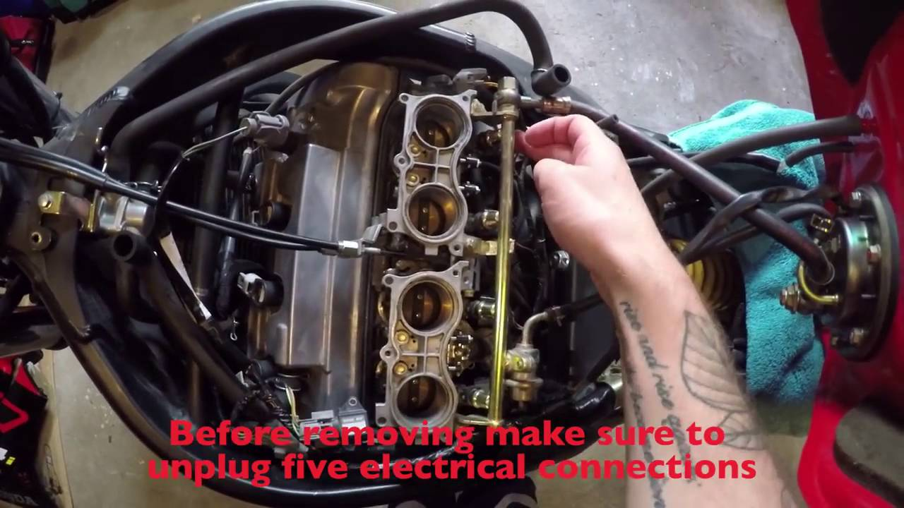 How To Do Valve Clearance Check On A Cbr600 F4i