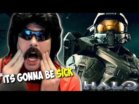 DrDisRespect Reacts to Halo: Battle Royale and New Battle Royale Game Trailer (11/23/18)