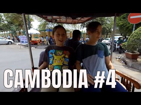 Easy Travel Day in Phnom Penh Cambodia (2018)