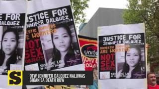 OFW Jennifer Dalquez naluwas gikan sa death row