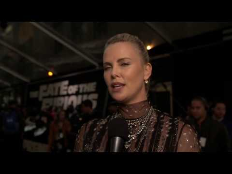 The Fate Of The Furious Charlize Theron New York Premiere Interview