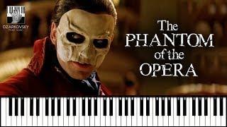 Призрак Оперы песня из мюзикла на пианино / The Phantom of the Opera Theme Song piano cover