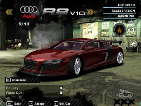 Need for Speed Most Wanted Mod Cars!!!