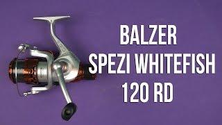Распаковка Balzer Spezi Whitefish 120RD