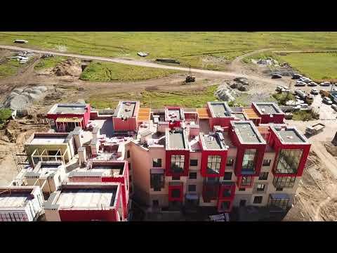 ЖК «Спектр», Новосибирская область, посёлок городского типа Кольцово - Видео онлайн