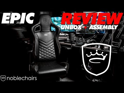 Noble Epic Series Gaming Chair Review + Assembly