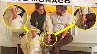 Sunny Deol & Dimple Kapadia CAUGHT Smoking & Holding Hands In London