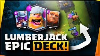 Clash Royale | Buying Lumberjack in the Shop | Lumberjack Deck!