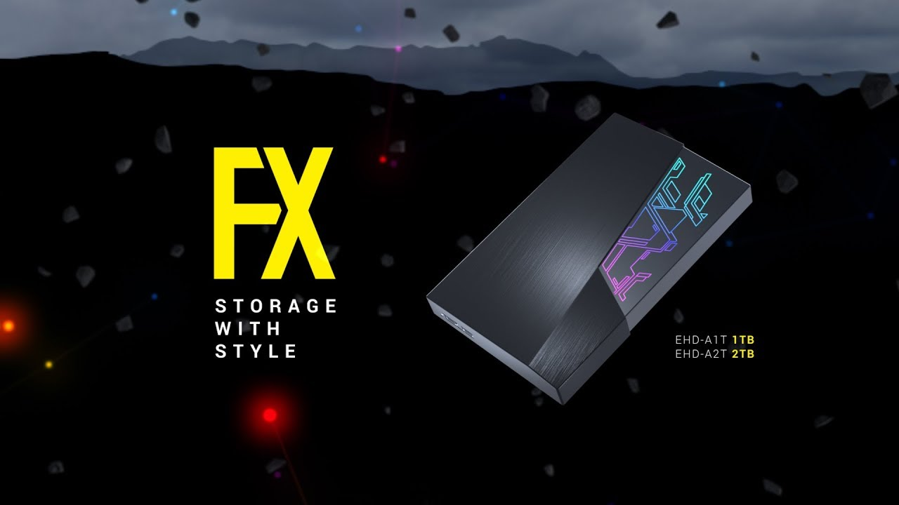 """Usb Charging Hub >> ASUS' FX HDD is the World's First 2.5"""" External Hard Drive ..."""