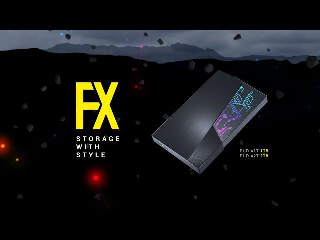 ASUS Announces FX External HDDs with AURA Sync RGB | eTeknix