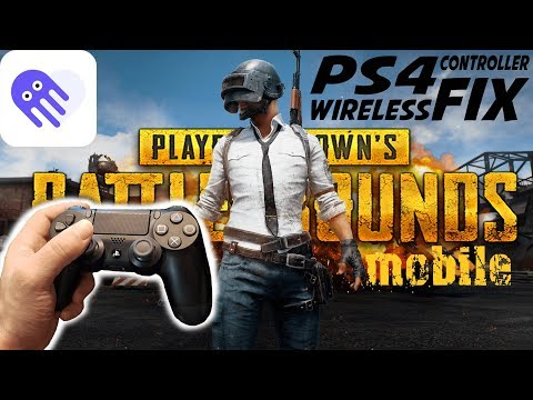 PUBG Mobile PS4  Controller (input Mapping FIX) USE AT YOUR OWN RISK!!!!