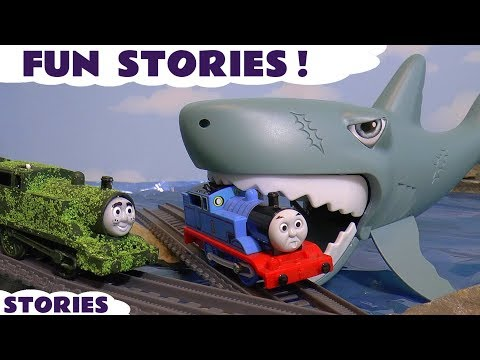 Thomas and Friends Fun and Games Compilation with Toy Trains Tom Moss and Scooby Doo ToyTrains4u