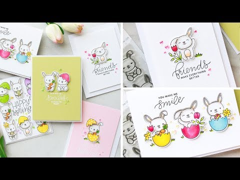 Creating 5 Easy Spring Card Ideas by Pretty Pink Posh