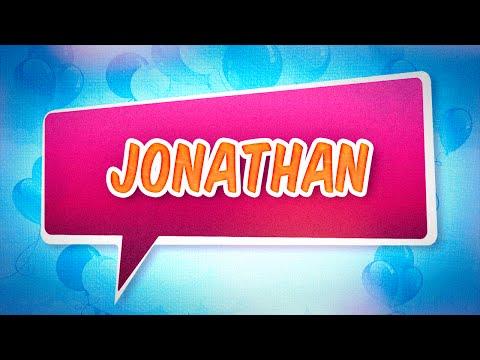 Joyeux anniversaire Jonathan