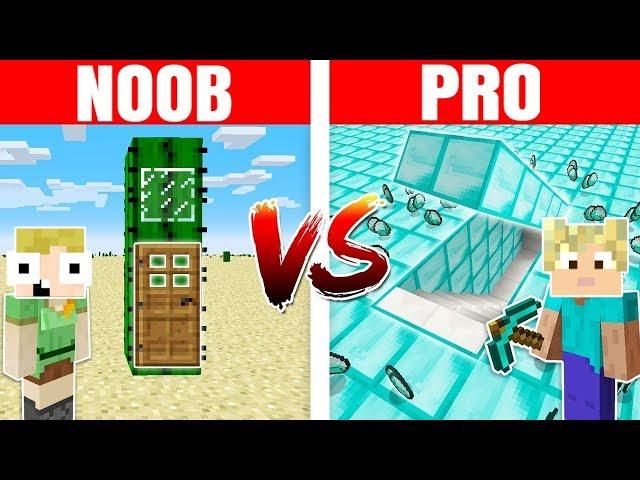 NOOB vs PRO :: HEMMELIG BASE!! - Dansk Minecraft