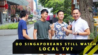 Do Singaporeans Still Watch Local TV? | Word On The Street