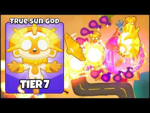 THE TRUE TEMPLE OF THE SUN GOD MAX TIER // Bloons TD 6 Gameplay (BTD 6 Gameplay Part 12)